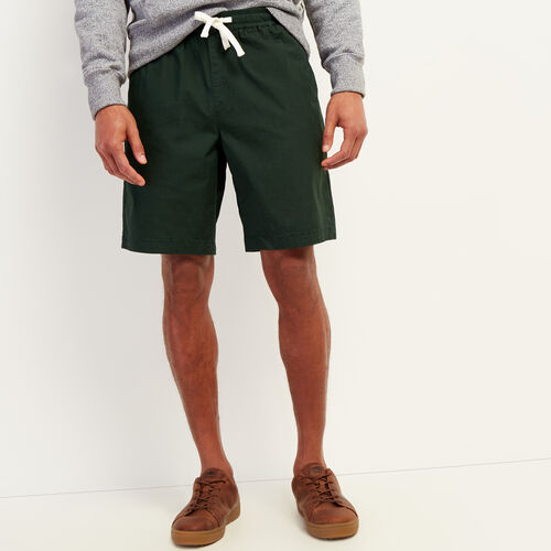 Roots-Men New Arrivals-Wasaga Pull On Short-Park Green-A