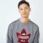 Roots-New For July Men-Mens Canada Crew Sweatshirt-Salt & Pepper-E