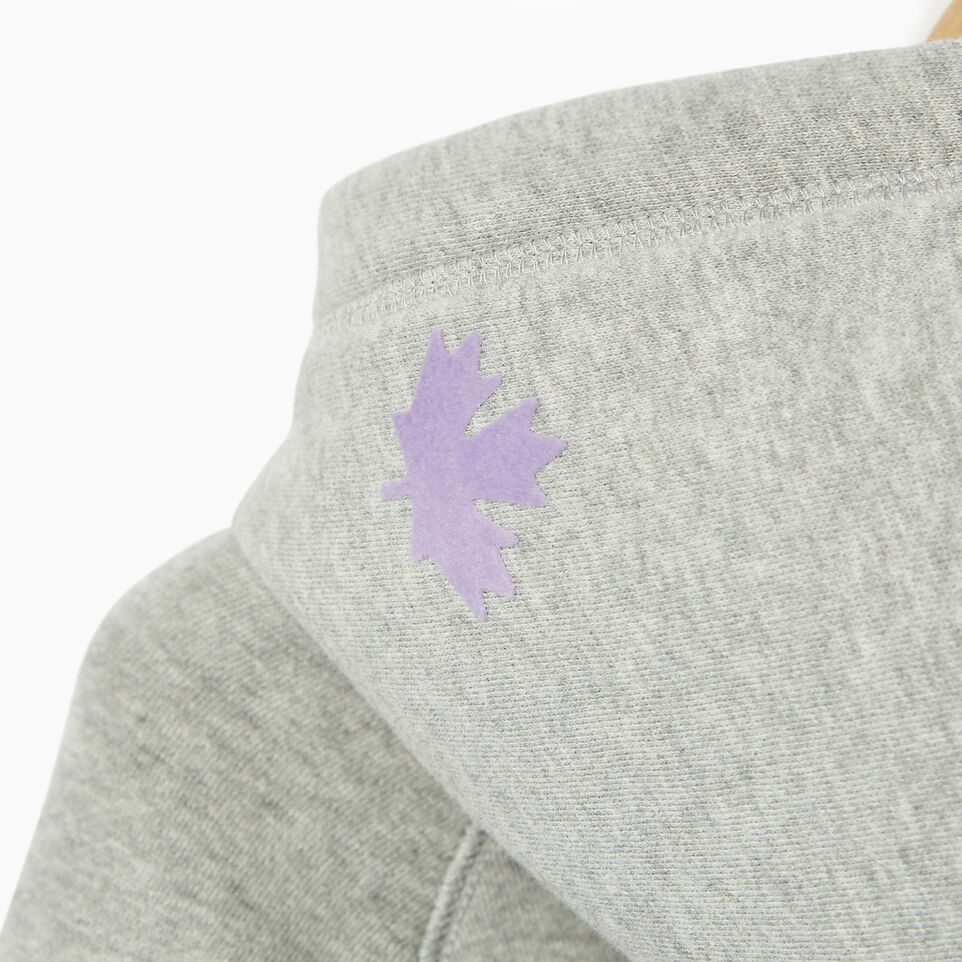 Roots-Clearance Kids-Girls Original Kanga Hoody-Grey Mix-E