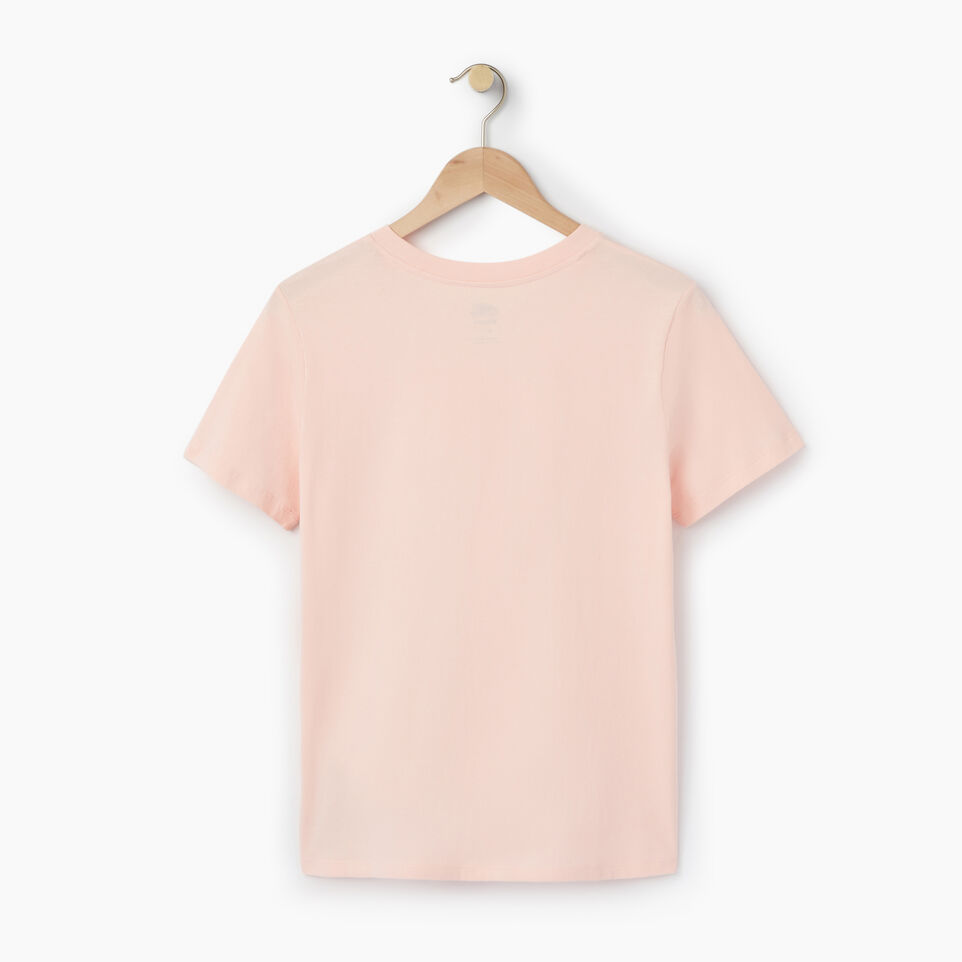 Roots-New For July Daily Offer-Womens Cooper Beaver T-shirt-English Rose-B