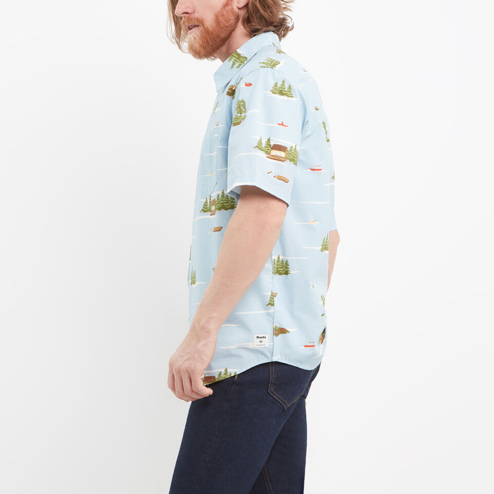 Roots-undefined-Lakeside Short Sleeve Shirt-undefined-B