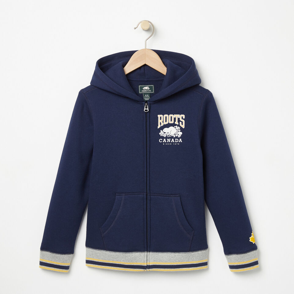 Roots-undefined-Boys Sideline Full Zip Hoody-undefined-A