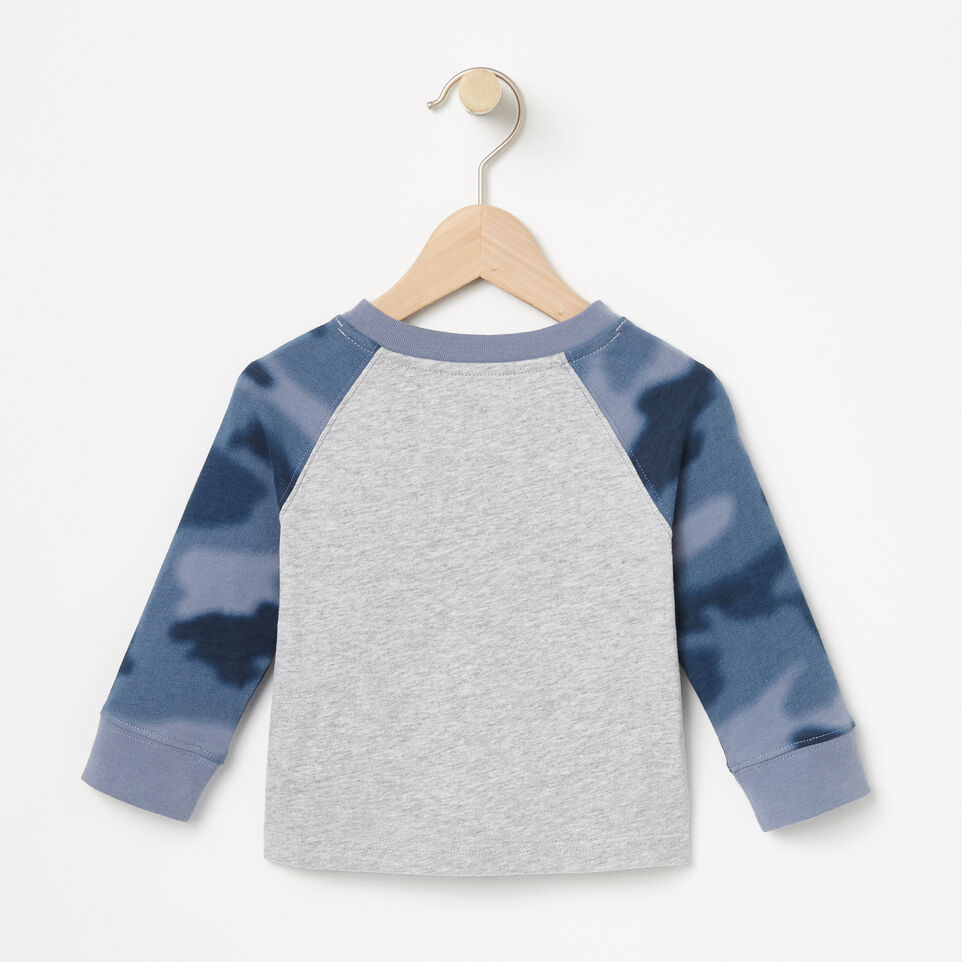 Roots-undefined-Baby Blurred Camo Top-undefined-B