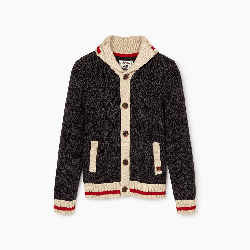 Roots-undefined-Boys Roots Cabin Shawl Cardigan-undefined-A