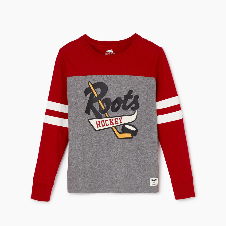 Roots-undefined-Boys Hockey Team T-shirt-undefined-A