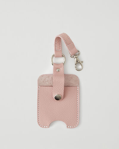 Roots-New For This Month Mask & Wellness Accessories-Hand Sanitizer Holder 2.0-Pink Pearl-A