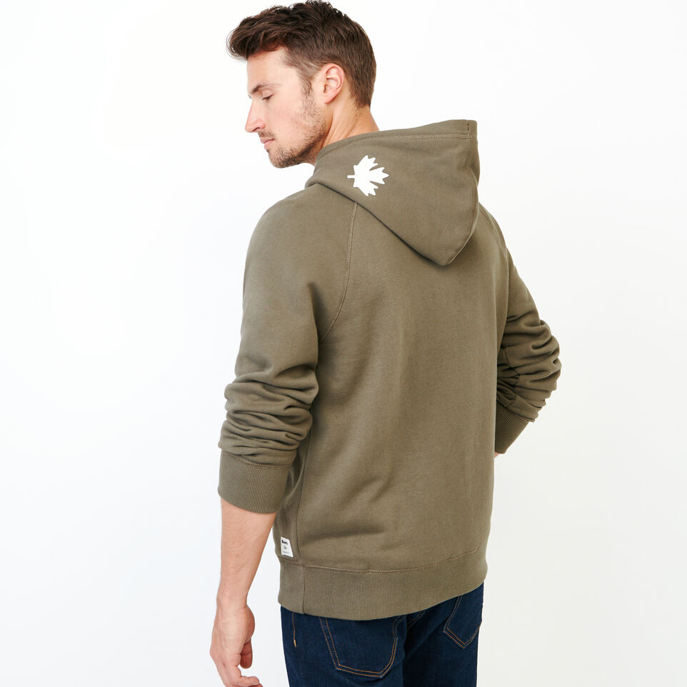 Roots-Men Our Favourite New Arrivals-Original Kanga Hoody-Fatigue-D
