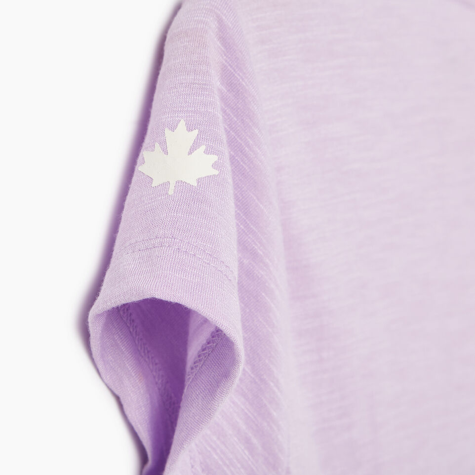 Roots-New For May Kids-Girls Lola Active Swing T-shirt-Lavendula-C