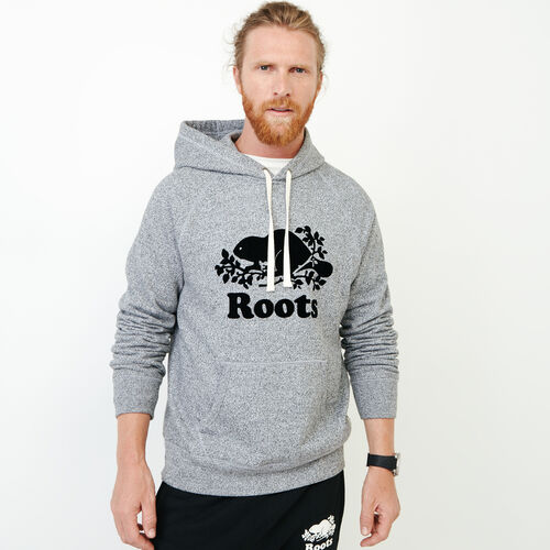 Roots-Men Categories-Roots Salt and Pepper Original Kanga Hoody-Salt & Pepper-A