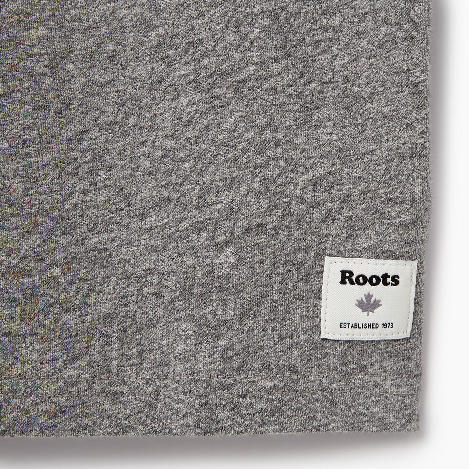 Roots-Kids Our Favourite New Arrivals-Boys Roots Patches T-shirt-Salt & Pepper-C