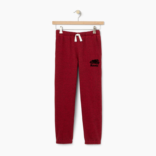 Roots-Kids Boys-Boys Original Sweatpant-Cabin Red Pepper-A
