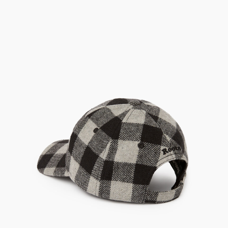 Roots-New For December Today Only: 40% Off Park Plaid Collection-Park Plaid Leaf Baseball Cap-Grey Mix-C