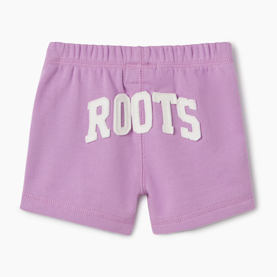 Roots-Kids New Arrivals-Baby Original Roots Short-African Violet-B