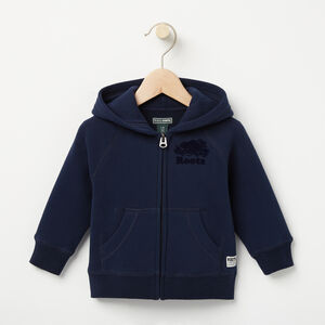 Roots-Sale Baby-Baby Original Full Zip Hoody-Navy Blazer-A