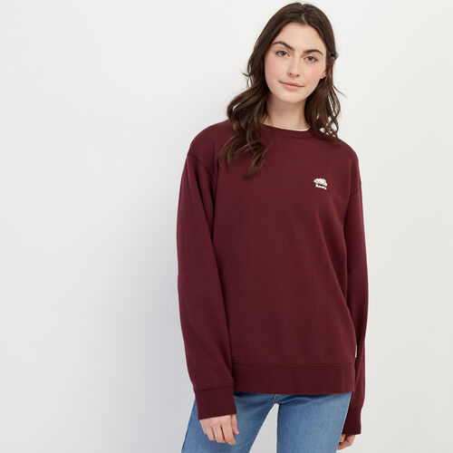 Roots-Women Categories-Boyfriend Crew Sweatshirt-Port Royale-A