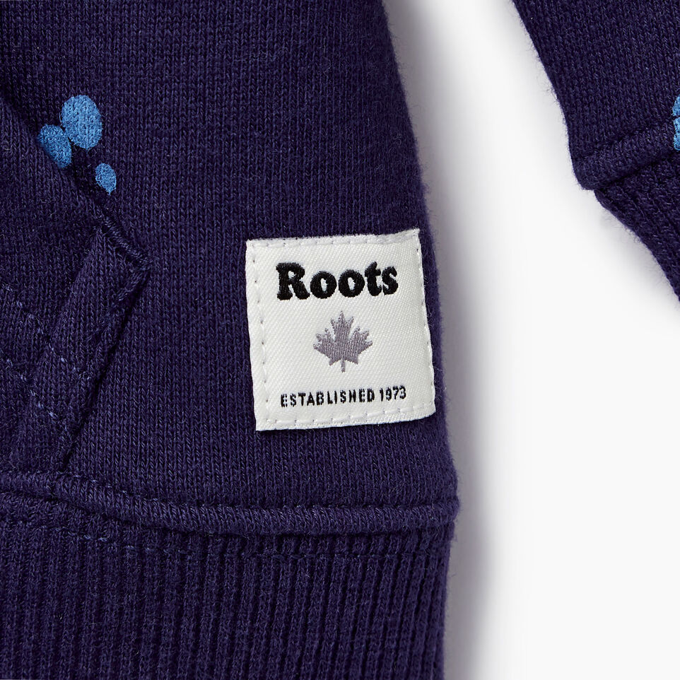 Roots-Kids Our Favourite New Arrivals-Baby Splatter Full Zip Hoody-Eclipse-C