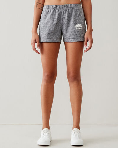 Roots-Shorts Women-Original Sweatshort 3.5 In-Salt & Pepper-A