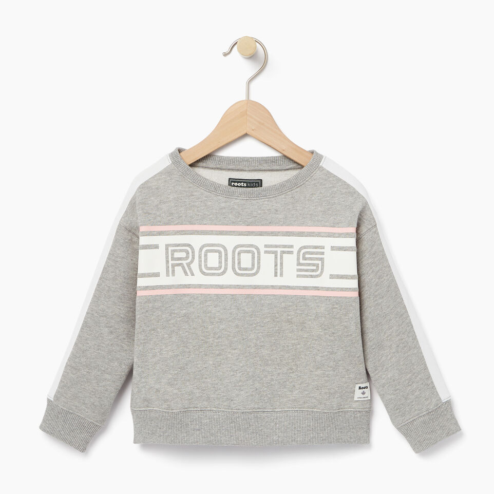 Roots-undefined-Toddler Sportsmas Crew Sweatshirt-undefined-A