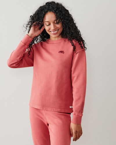 Roots-Sweats Sweatsuit Sets-Botanic Organic Crew Sweatshirt-Rubia-A