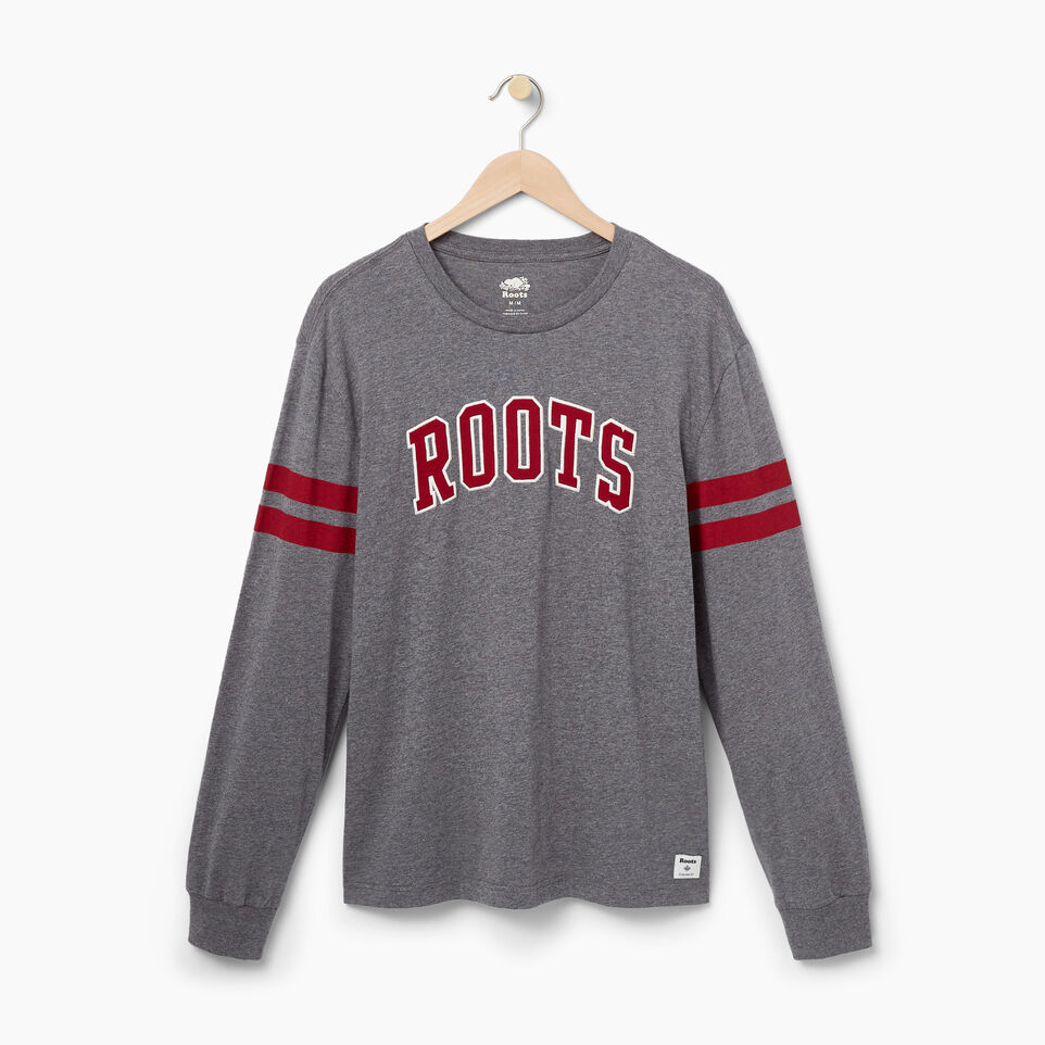 Roots-undefined-Mens Roots Arch Longsleeve T-shirt-undefined-A