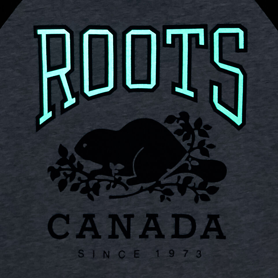 Roots-undefined-Boys Glow In The Dark Raglan Top-undefined-E