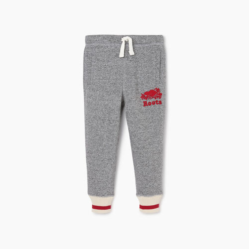 Roots-New For October Kids-Toddler Roots Cabin Cozy Sweatpant-Salt & Pepper-A