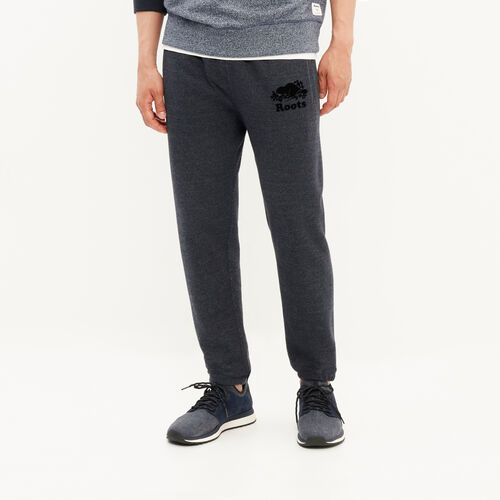 Roots-Men Bestsellers-Slim Elastic Sweatpant-Navy Blazer Pepper-A