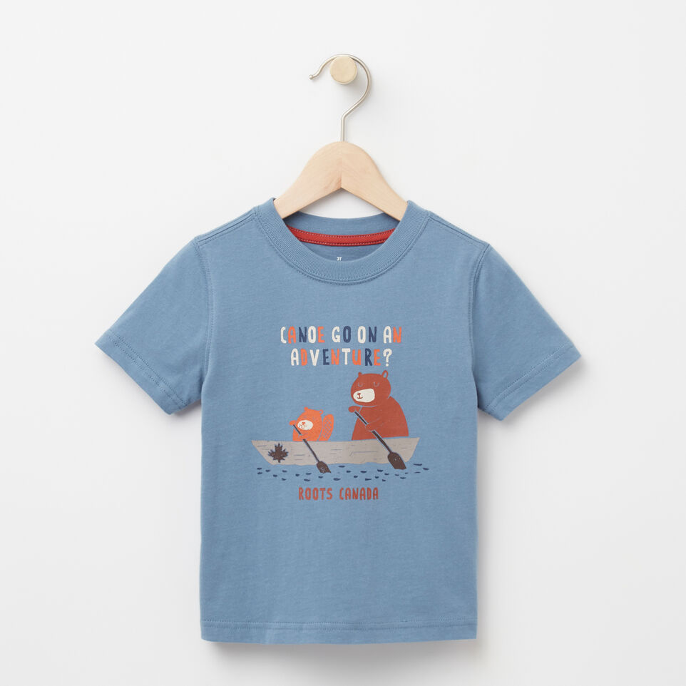 Roots-undefined-Toddler Canoe Adventure T-shirt-undefined-A