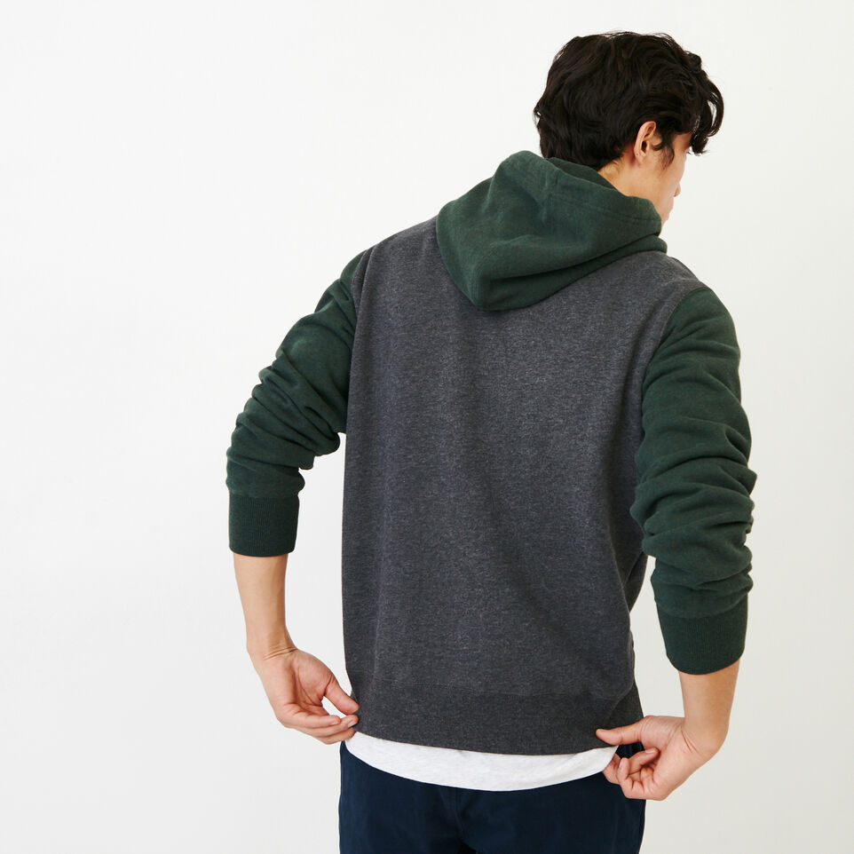 Roots-Men Our Favourite New Arrivals-Athletic Dept. Hoody-Charcoal Mix-D