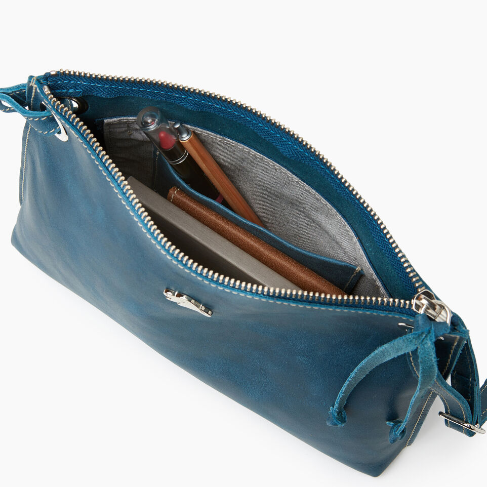 Roots-Leather Bestsellers-Edie Bag-Teal Green-E