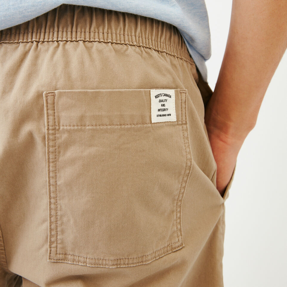 Roots-Men Our Favourite New Arrivals-Essential Short-Dark Khaki-E