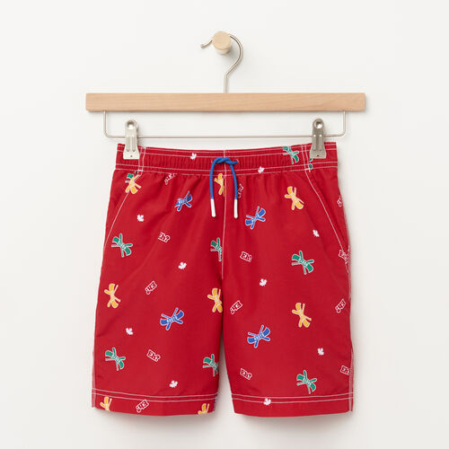 Roots-Sale Kids-Boys Nanaimo Canoe Short-Sage Red-A