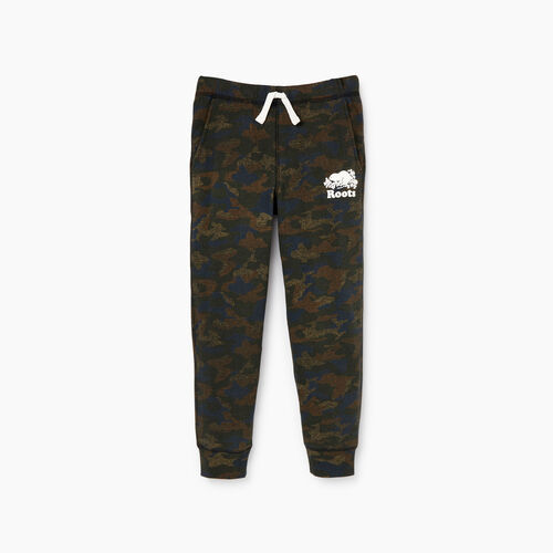 Roots-Kids Our Favourite New Arrivals-Boys Park Slim Sweatpant-Camo Print-A