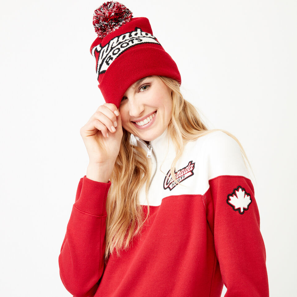 Roots-Women Our Favourite New Arrivals-Canada Zip Stein-Cloudy White-A