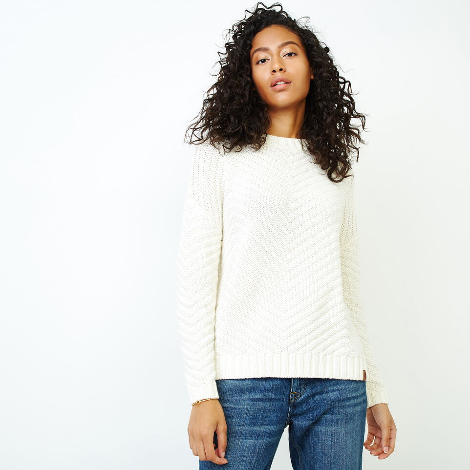 Roots-Women Clothing-Elora Pullover Sweater-Ivory-A