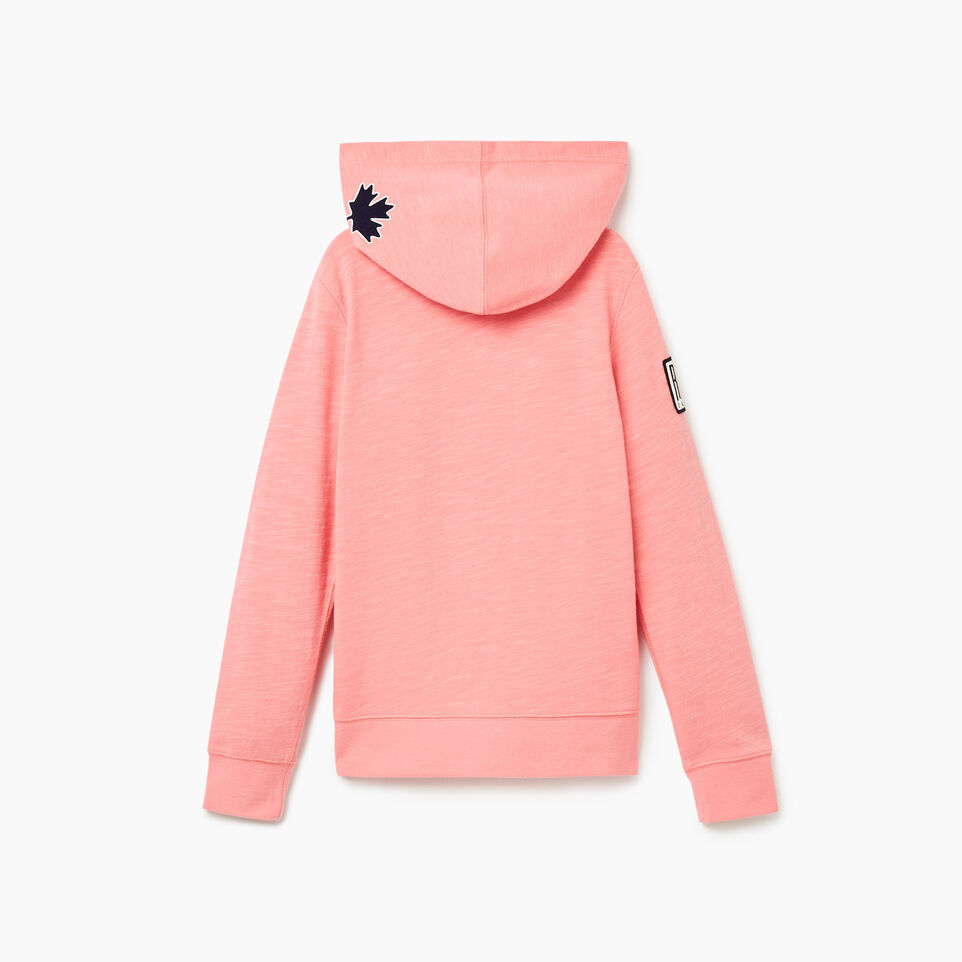 Roots-undefined-Girls Camp Patch Full Zip Hoody-undefined-B