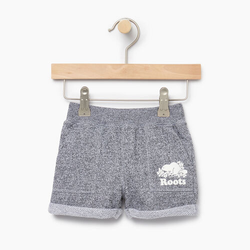 Roots-Kids Our Favourite New Arrivals-Baby Park Short-Salt & Pepper-A