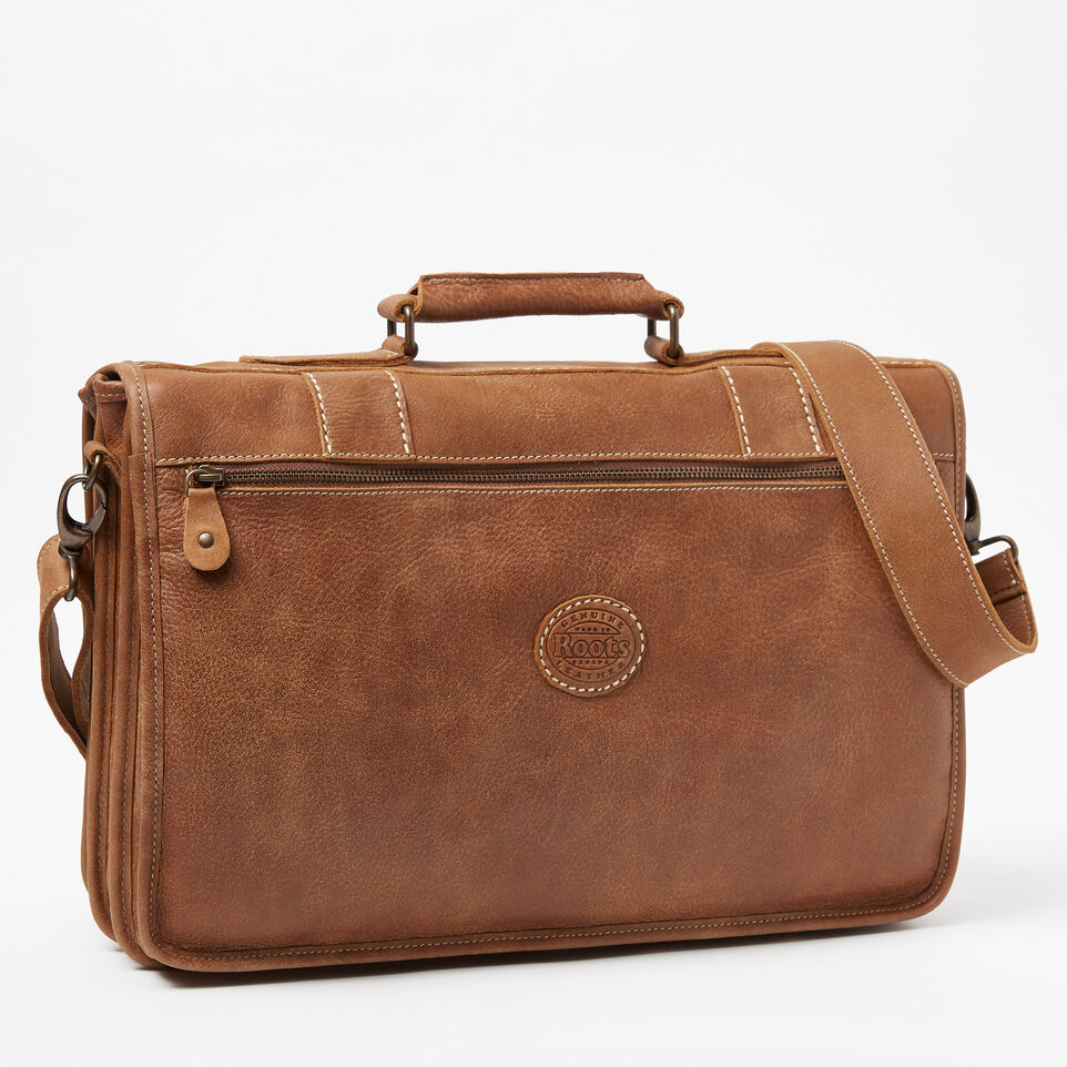 Roots-Leather  Handcrafted By Us Collections-Grad School-Natural-C