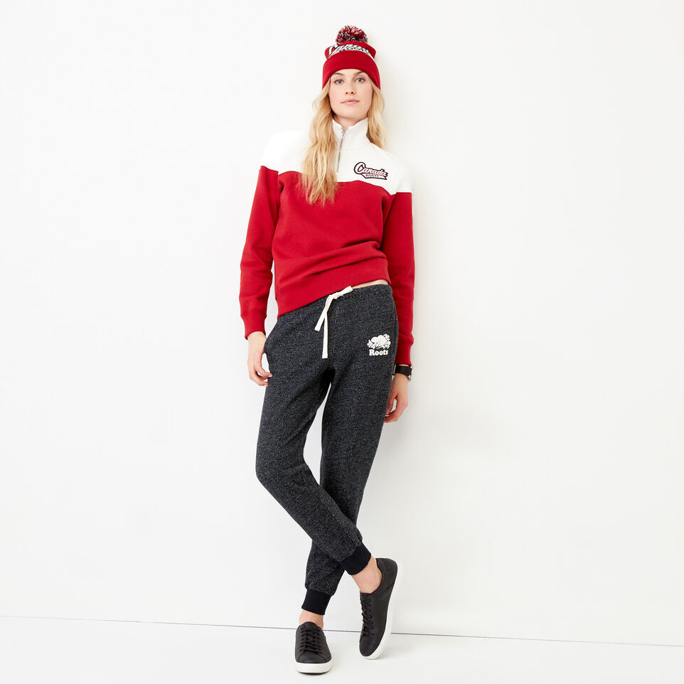 Roots-Women Our Favourite New Arrivals-Canada Zip Stein-Cloudy White-B