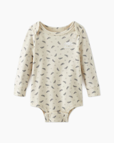 Roots-Kids Baby's First-Baby's First Bodysuit-Birch White-A