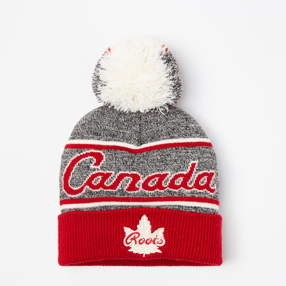 Roots-undefined-Toddler Canada Heritage Pom Pom Toque-undefined-A