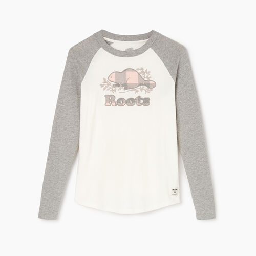 Roots-Women Categories-Womens Margaree Long Sleeve T-shirt-Grey Mix-A