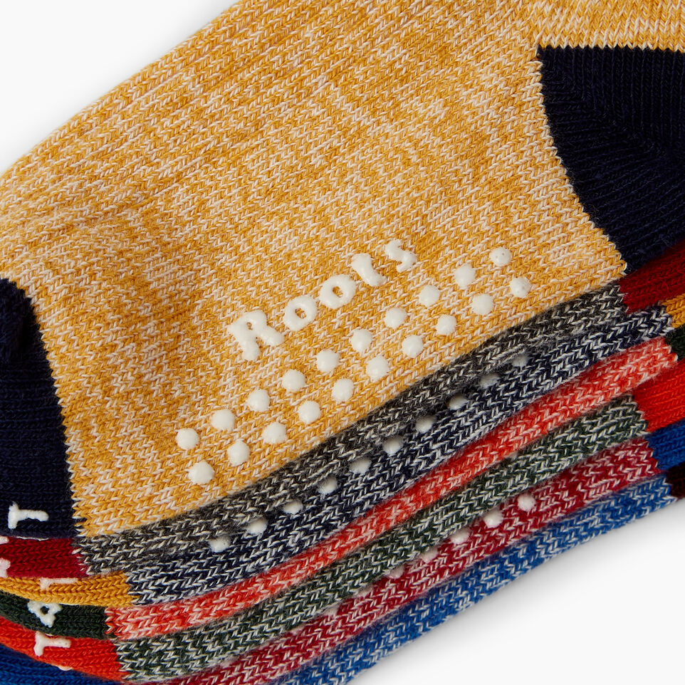 Roots-Kids Our Favourite New Arrivals-Toddler Days Sock 7 Pack-Multi-C