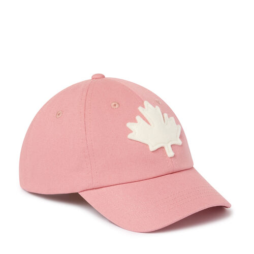 Roots-Kids Our Favourite New Arrivals-Kids Canada Baseball Cap-Pink-A