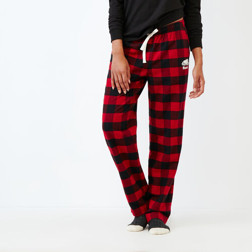 Roots-Women Our Favourite New Arrivals-Inglenook Lounge Pant-Lodge Red-A