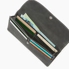 Roots-Leather Our Favourite New Arrivals-Riverdale Slim Wallet-Jet Black-D