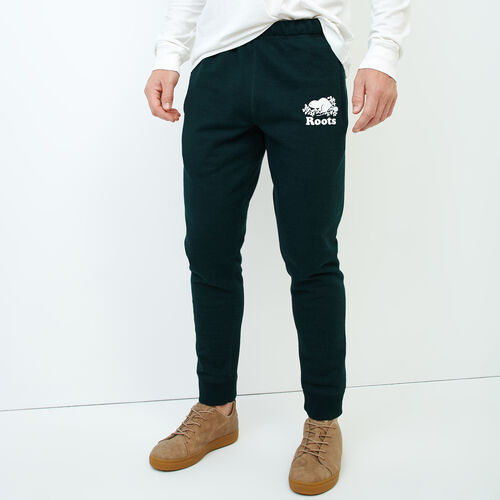 Roots-Men Slim Sweatpants-Park Slim Sweatpant-Varsity Green Pepper-A