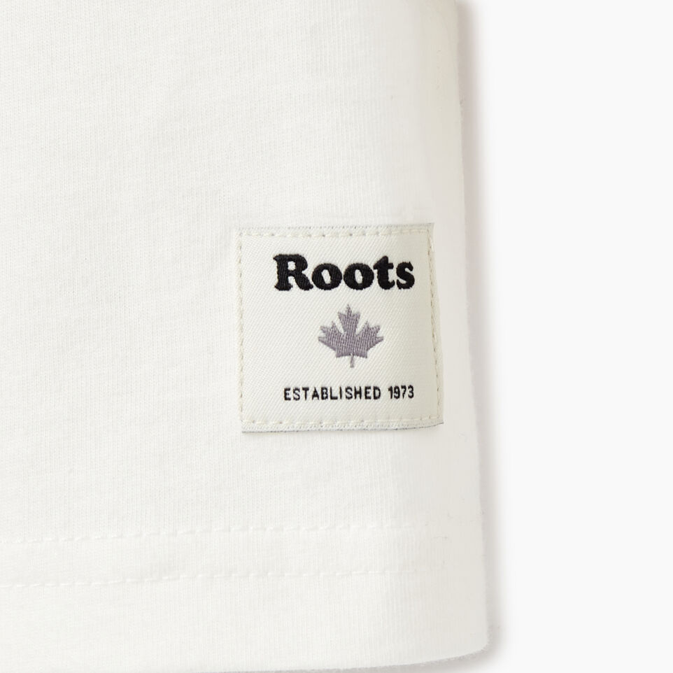 Roots-Kids Our Favourite New Arrivals-Girls Roots Remix T-shirt-Ivory-C