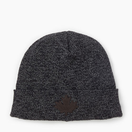 Roots-Men New Arrivals-Polar Fox Toque-Black Fox-A