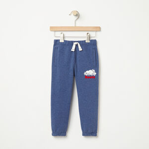 Roots-Kids Bottoms-Toddler National Slim Sweatpant-Cascade Blue Mix-A